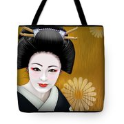 Geisha Girl Tote Bag