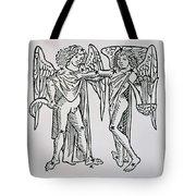Gemini An Illustration Tote Bag