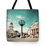 Gendarmenmarkt In Berlin Germany Tote Bag