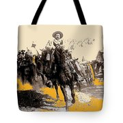General Pancho Villa At Ojinaga A Military Triumph 1916-2008 Tote Bag