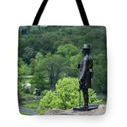 General Warren At Little Round Top Tote Bag