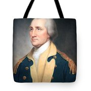 George Washington By Rembrandt Peale Tote Bag