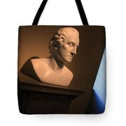 George Washington Dark Blue -- Horatio Greenough Tote Bag