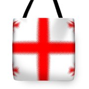 Georgian Flag Tote Bag