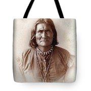 Geronimo Native American Chief Tote Bag