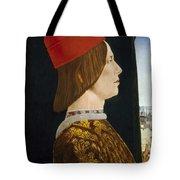 Giovanni II Bentivoglio Tote Bag