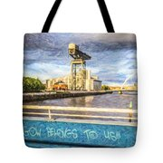 Glasgow Belongs To Us Tote Bag