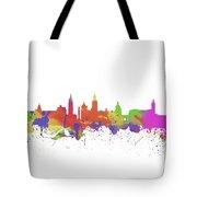 Glasgow Watercolor  Skyline  Tote Bag