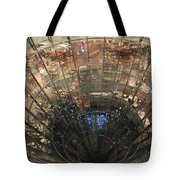 Glass Spiral Tote Bag