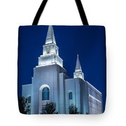 Glowing Cathedral Tote Bag