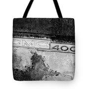 Gmc 4000 V6 Pickup Truck Side Emblem Tote Bag