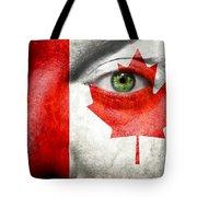 Go Canada Tote Bag
