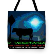 Go Vegetarian Tote Bag