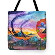 God Of A Thousand Faces Tote Bag