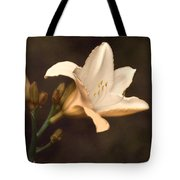 Golden Daylily Tote Bag
