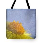 Golden Everlasting Daisy Tote Bag