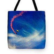 Golden Knights Painting Tote Bag