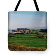 Golf Course On Half Moon Bay Tote Bag