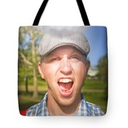Golf Four And Out Cold Tote Bag