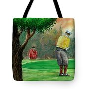 Golf Outing Tote Bag