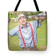 Golf Temper Tantrum Tote Bag