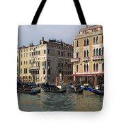 Gondolas In The Grand Canal Tote Bag