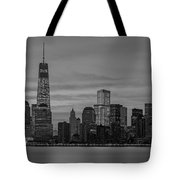Good Morning New York City Tote Bag