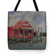 Goodyear Fish House #2 Tote Bag