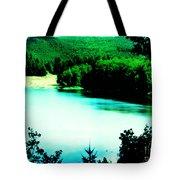 Gorge Waterway Victoria British Columbia Tote Bag