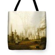 Gothic Autumn Morning Tote Bag