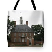 Governers Palace Colonial Williamsburg Tote Bag