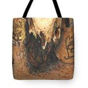 Abstract Gaffiti Design Tote Bag
