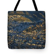 Granada And The Alhambra Tote Bag