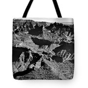 Grand Canyon Navajo Point Panorama At Sunrise  Tote Bag
