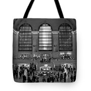 Grand Central Station Bw Tote Bag