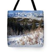 Grand Teton Landscape Tote Bag