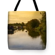 Grand Union Canal In Berkhampsted Tote Bag