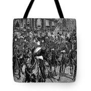 Grant Funeral, 1885 Tote Bag