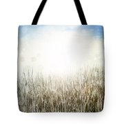 Grass And Sky  Tote Bag