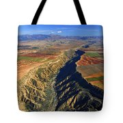 Great Canyon River Gor In Spain Tote Bag