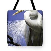 Great Egret Tote Bag