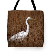 1- Great Egret Tote Bag