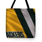 Green Bay Packers Uniform Tote Bag