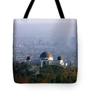 Griffith Observatory Tote Bag