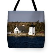 Grindel Point Lighthouse Tote Bag