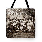 Group Under Tree Tote Bag