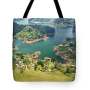 Guatape Lake Tote Bag