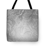 Guatemala Street Map - Guatemala City Guatemala Road Map Art On  Tote Bag