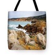 Guincho Cliffs Tote Bag