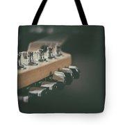 Guitar Head At A Glance Tote Bag